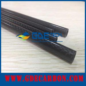 China 3k carbon fiber tube price on sale
