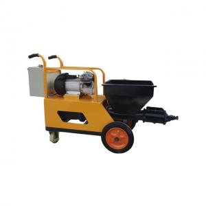 China Easy operation cement putty spraying machine in India for wall plastering on sale