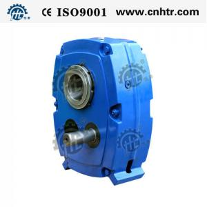 China Gear Reduction ratio 5 13 20 Fenner SMSR Shaft Mounted Gearbox Two Stage Power Transmission on sale