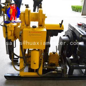 China HuaxiaMaster  hydraulic core drilling rig HZ-200Y,200meters water well drilling machine exploration drill on sale