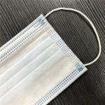 Safemask Premier Earloop Masks Blue Comfortable Medical Sanitary Surgical Mask