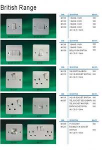 China Wall Switch & Socket on sale