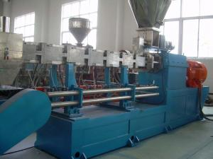 China Pedazos plásticos que reciclan y máquina del granulador para el extrusor plástico de la pelotilla on sale