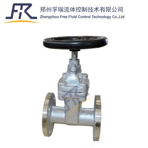 China Resilient Seated Non-Rising Stem Gate Valve with CF8 body on sale