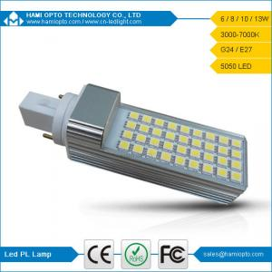 China 8W G24 LED Light Lamp, 5050SMD LED G24 Bulbs 4 Pins, Commercial Lighting on sale