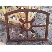 Barn Old Cast Iron Windows In An Antique Fixed Open Style H53.5xW72CM