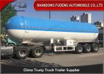 3 Axles 25 Tons 59.4 Cubic Meters LPG Tank Trailer For Flammable Liquid Transport For Sale