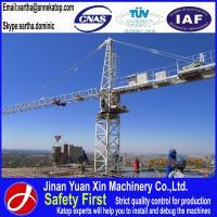 Factory price QTZ160 (6515) 10t load tower crane