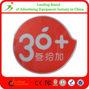 China Irregular Outdoor Acrylic Channel Letter led advertising display on sale