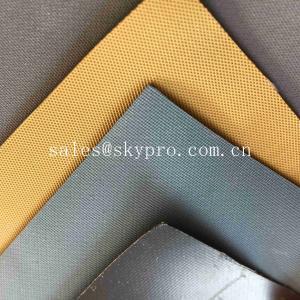 China Rolo caqui bronzeado da tela do neopreno, tela de borracha de Hypalon para barcos com superfície de Matt on sale