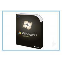 China Genuine Microsoft Update Windows 7 SP1 64 bit Full System Builder OEM DVD 1 Pack on sale