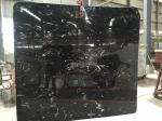 China Cheap black and white marble slab 2 cm  natural stone slab