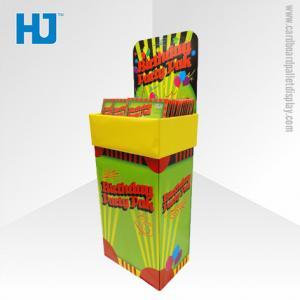 China Birthday Cards Cardboard Dump Bin Display , Shop Dump Bins for Retail on sale