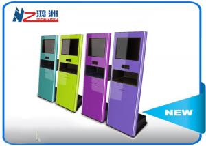 China RFID card reader interactive touch screen kiosk for payment , outdoor information kiosk on sale