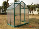 4mm UV Twin-wall Polycarbonate Portable Gardening Greenhouse 6' X 4' RA0604