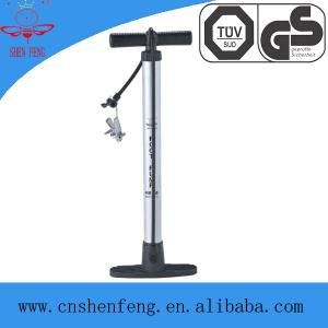 China Professional High pressure hand air pump with guage SF8903G-1 on sale