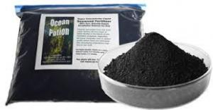 China High Performance Organic Seaweed Fertilizer Brownish Powder For Crops Growth on sale