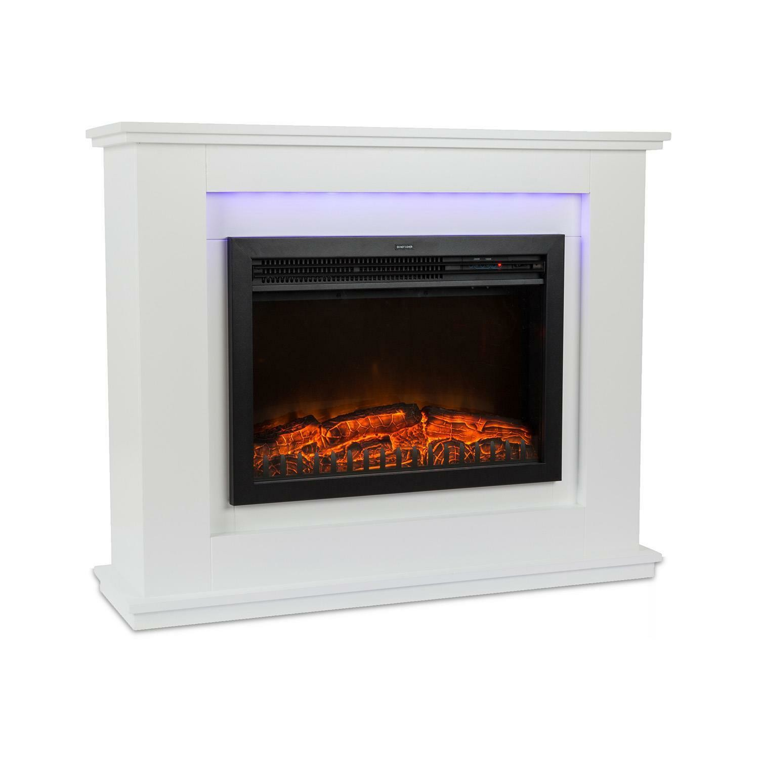 Electric Fireplace Suite Ef461lb Insert Fireboxs 23 Stoves Log