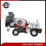 3 cubic meters heavy weight self loading concrete mixer truck for sale
