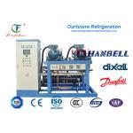 A água de R22 Hanbell Glyco refrigerou o tipo cremalheiras do parafuso do compressor da paralela para o congelador