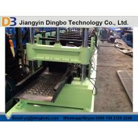 China PLC Cable Tray Roll Forming Machine , Cable Tray Punching Machine Gear Box Driven on sale