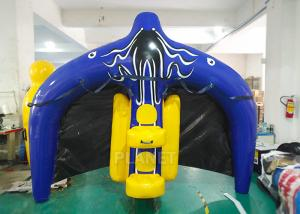 China Towable Inflatable Water Ski Tube Flying Manta Ray For Water Sport Games on sale