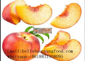 China tinned yellow peach halves canned fruit in syrup on sale