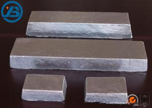 China Aviation / Automobile / Military Industry Magnesium Metal Ingot Rare Earth Alloy on sale