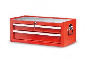 China 2 Drawer Tool Chest Side Cabinet Chrome Plate Ring Handles Garage Middle on sale