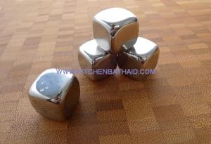 China New Metal Ice Cubes for Alcohol Drinks on sale