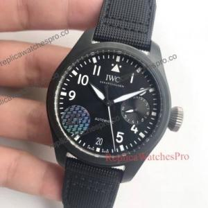 China IWC Big Pilot's Black Dial Watch IWC5002301 on sale