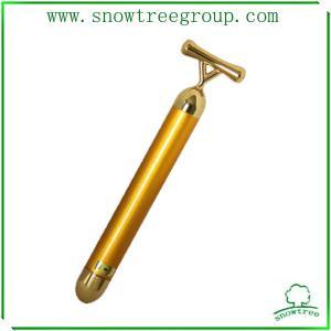 China 24k golden hight end quality popular japan beauty bar slim face bar for face massager on sale