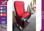 Aluminum Base Church Hall Chairs With Painted Back / University Furniture