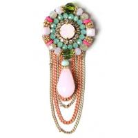 Fashion Women Accessories Crystal Custom Letter Rhinestone Brooch Pins,  new brooch design vintage brooch, Crystal Women