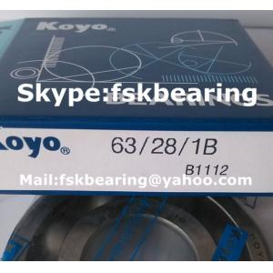 China Automobile Gearbox SKF 63/28 Single Row ABEC 7 Bearings Steel Balls on sale