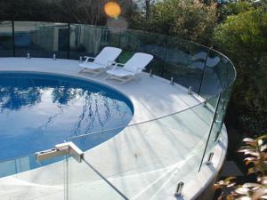 China Spigots glass railing frameless glass spigot glass clamp railing for pool fence on sale
