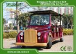 Excar Red Electric Classic Cars With Trojan Battery ,CE Approved