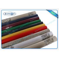 Packed In Roll Pantone Color Non Woven Disposable Table Cloths 45g 50g 60g 70g Weight