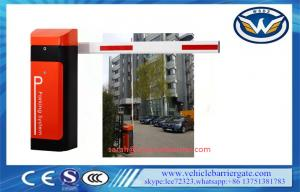 China 80W arm automatic barrier gate Operator With AC Reliable Electro Mechanical Drive on sale
