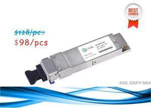 Quality 40G Ethernet QSFP+ Optical Transceiver Modules QSFPP-40GBASE-SR4 850nm for sale