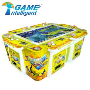 China Redemption Fish Hunter Game Machine Metal Firm Structure Easy Maintained For Game Centre on sale