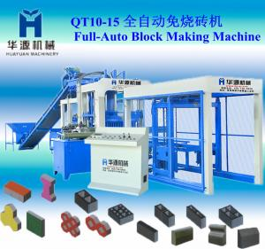 China HYM 2013 new high qualilty QT10-15 cement block making machine of manufacturing machine on sale