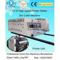 Automated Feeding Flexo Printer Slotter Machine High Speed Cutting Machine