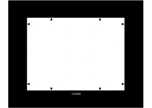 China YE0285 Digital Image Resolution Chart For Evaluation Infrared Illumination Operating View Distance on sale