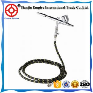China Flexible Different sizes low pressure air and fluid painting spray hose on sale