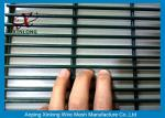 Hot Dipped Galvanized 358 High Security Fence for Power Station , Galvanised Security Fencing