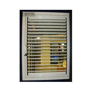 China T5 / T6 Blinds Aluminum Window Frame Extrusions Gold Color ROHS on sale