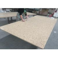 China Bamboo Green Artificial Granite Quartz Slab Countertops Stone Kitchen Tops on sale