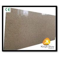 Xiamen Kungfu Stone Ltd supply Yellow Quartz Stone Countertops Slab In High quality and cheap price