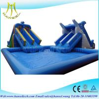 Hansel Perfect customized inflatable water park games inflatable water games